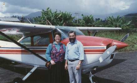David and Crystal Hersman Papua New Guinea Cessna 182