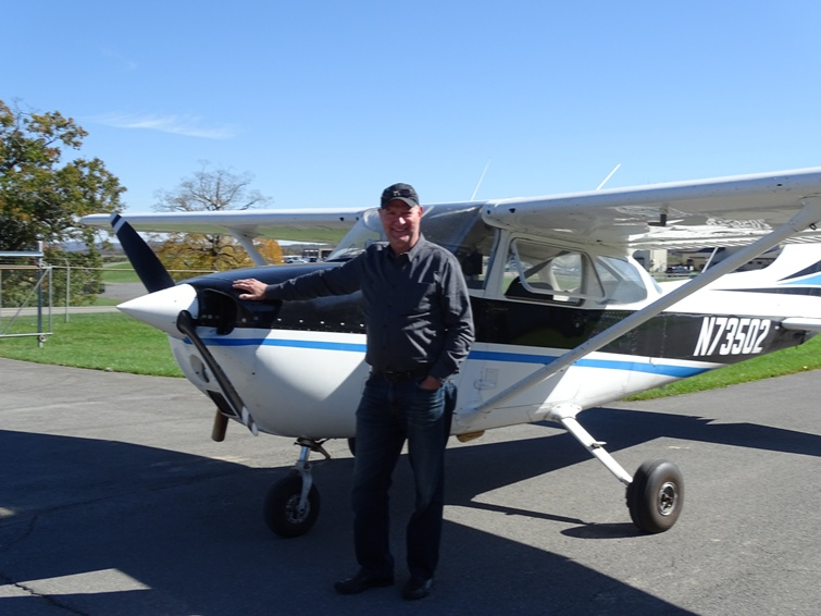 Bob Neff with Cessna 73502, October 14, 2020