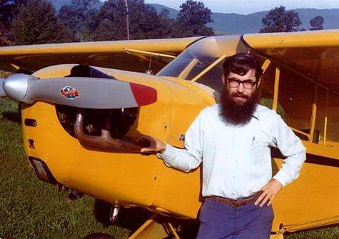David Hersman, Piper Cub, 1976